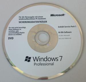 windows 7 professional oem dvd