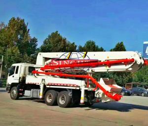 China 6x4 HOWO 42m Concrete Transport Truck Construction Concrete Pump Truck on sale