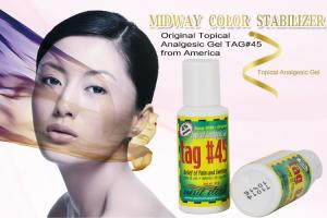 China Original TAG # 45 Topical Analgesic Gel Numbing Cream For Tattoos on sale