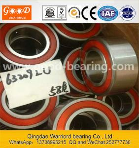 China Deep groove ball bearing _6322M_ brass _ Baicheng bearing retainer on sale