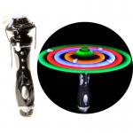 Handheld Led Windmill Spinning Wand  Led Galaxy Spinner Wand  For Party