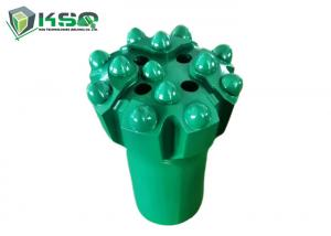 China Thread Button Drill Bit Rock Drill Steel And Bits R32 76mm Ballistic Rock Carbide Drill Bits on sale