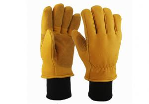 China Buckskin Safety Work Gloves/BLG-02 on sale