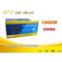 China Automatic Protect Off Grid Solar Inverter Online 24volt Dc 110volt on sale