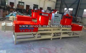 China Wood pallet leg machine/wood feet block extruding machine on sale
