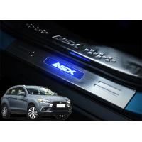 Mitsubishi ASX 2013 2017 Steel Side Door Sill Scuff Plates with LED Light