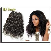 Italian 100% Human Hair Bundles , Natural Color 1 Piece Weave Hair Extensions