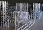 Tipo de aluminio capacidad pesada durable de la espita del braguero de la caja de la etapa al aire libre del concierto del cargamento