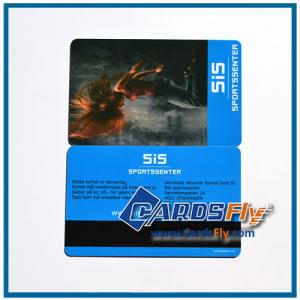 China magnetic stripe cards on sale