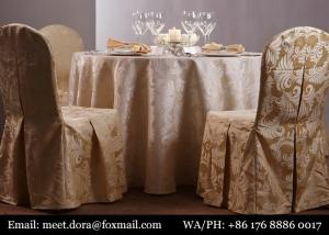 China New Style Vinyl Table Cover Indian Round Table Cloth For Wedding on sale