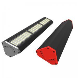 China Industrial Warehouse 50w - 200w LED Linear High Bay Light Fixture 140Lm Per Watt on sale