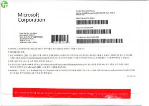 China Win 10 Pro Software OEM Pack 64 Bit , OEM Operating System Korean Language Version on sale