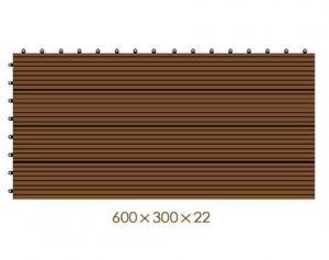 China WX20 plastic decking manufacturers/deck flooring price/Wooden Deck Flooring/Home and garden landscaping waterproof tiles on sale