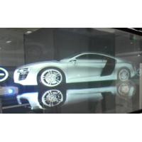 3D Holographic Rear Projection Film Adhesive Self Glass 170° View Angle