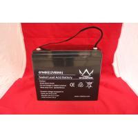 Solar UPS Power Supply , 12v80ah Deep Cycle Lead Acid BatteryFor Emergency Lighting