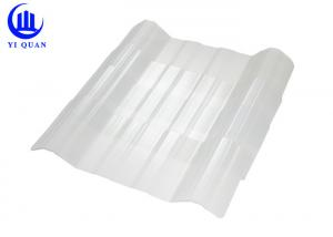100% Virgin Lexan Transparent Roofing Sheets Colored Clear