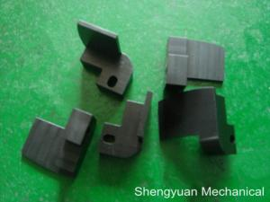 China Non Standard Precision Machining CNC Black Coated Anodized Aluminum Metal Folder Parts on sale