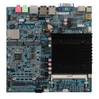China Thin ITX Industrial Embedded PC , Multi Processor Motherboard Embedded PC Boards on sale