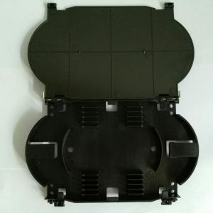 China ABS Material Fiber Optic Enclosure , 12 Core 12 Fiber Optical Fiber Tray on sale