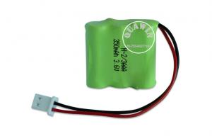 China Portable recarregável do AAA 350mAh do bloco da bateria de Nimh para a luz Led on sale