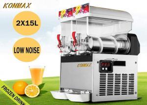 China 15L X 2 Tank 110V 700W Frozen Drink Machine Margarita Maker For Restaurant Supermarket on sale