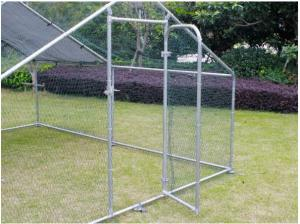 China 4Lx3Wx2H m Chicken Run Coop/ Animal Run/Chicken House/Pet House/Outdoor Exercise Cage Coop for Hen Poultry Dog Rabbit wholesale