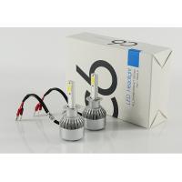 High lumen and IP68 waterproof super bright led headlight H1 3800lm 12-36V,COB C6 led headlight
