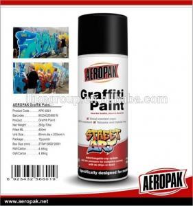 China Aeropak Free sample Graffiti Paint Cans With Spray Paint 450ml on sale