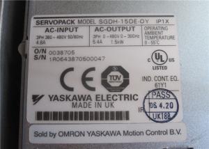 New Condition YASKAWA Servo Driver , AC Servo Motor Drive SGDH-15DE