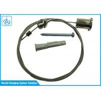 China Custom Made Cable Suspension Kit / Led Panel Light Suspension Kit Brass + Steel on sale
