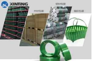China PP PET strap production line/packing strap machine standard packing on sale