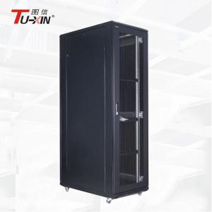China Locking Network Cabinet Enclosure High Capacity 37U  For Business Center on sale