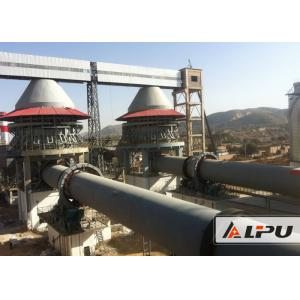 China 600 - 1000tpd Active Lime Rotary Kiln For Dolomite Calcination Dry And Wet Type on sale