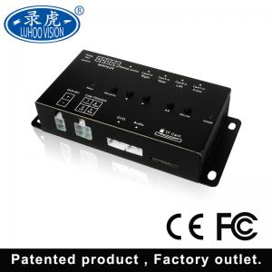 China Vehicle 4 Channel Car DVR Recorder , Auto Mobile DVR Sd Card Video Recorder on sale