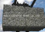 Square Welded Gabion Box 2.0mm Lacing Wire With 6x8 8x10 10x12 Aperture
