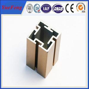 Quality 6000 Series aluminium extruded profile slot / OEM t slot aluminum extrusion for sale