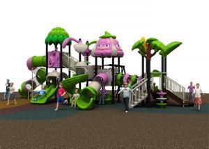 China Safe Reliable Childrens Plastic Playground Equipment Waterproof Custom Design on sale