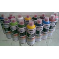 China DIY Colorful Graffiti Art Spray Paint / Aerosol Spray Paint Red Blue Purple Gold on sale