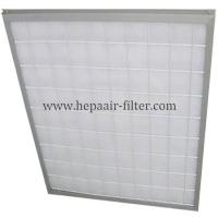 Aluminum Frame Panel Primary Pleated Media Filter HEPA Air Conditioning Filters