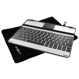 China Custom 245mm*190mm* 8.5mm Aluminum Ipad 3 bluetooth keyboard  case on sale