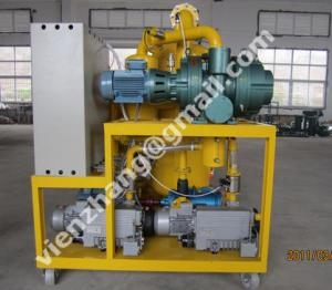 China Double stage high vacuum oil filtration system on sale