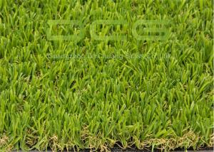 China Olive Shape Custom Realistic Artificial Grass Mat Hard - Wearing And Long - Lasting on sale