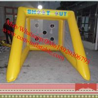 inflatable penalty shootout football game inflatable football goal inflatable soccer goals
