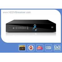 China MPEG4 DVB HD Receiver Dual USB Support Wifi , 3G , IKS Share Multi-CA on sale