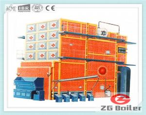China SHL Series Chain Grate Field Assemble Boiler| rice husk steam boiler manufacturers on sale