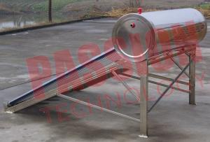 China Food Grade Vacuum Tube Solar Water Heater Portable With Painted Steel Shell on sale
