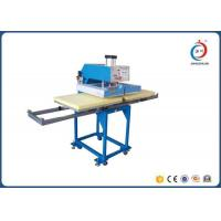 Pneumatic Digital T Shirt Printing Press Machine Multicolor Double Station