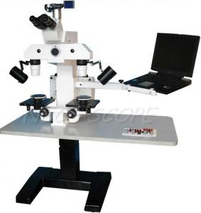 China Compound Light Forensic Comparison Microscope With180mm X 180mm Stage on sale