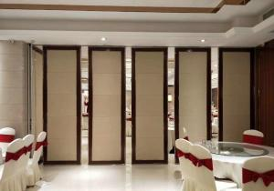 China Sound Insulation Sliding Track Aluminium Movable Partition Wall Systems OEM Service supplier