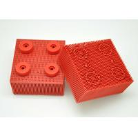 Red Nylon Bristle Round Foot Especially Suitable For Lectra Cutter 702583 / Cutting Machine Parts